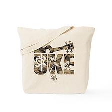 The Uke Camo Tote Bag