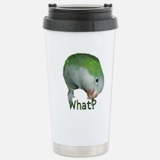 Unique Parrot art Travel Mug
