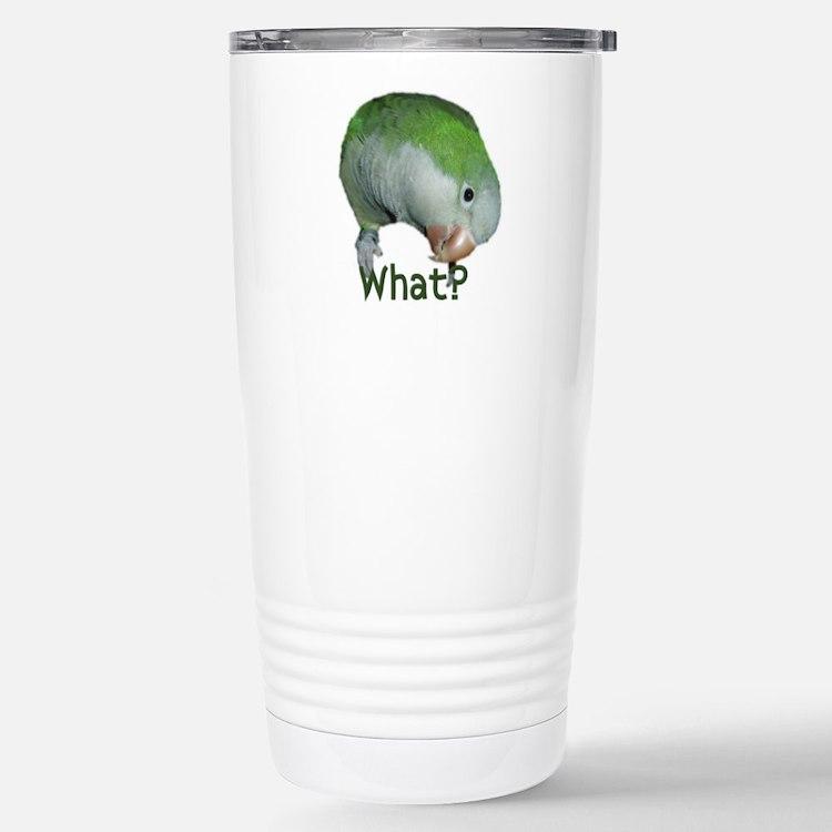 Cute Parrot lovers Travel Mug