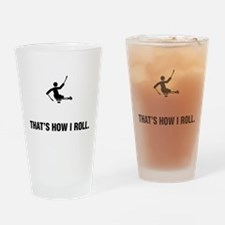 Phys. Challenged Sled Hockey Drinking Glass