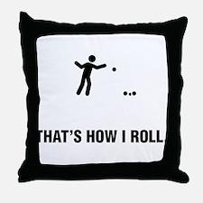 Petanque Throw Pillow