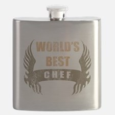 World's Best Chef (Wings) Flask