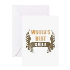 World's Best Chef (Wings) Greeting Card