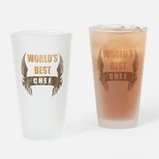 World's Best Chef (Wings) Drinking Glass