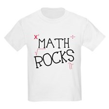 Math Rocks Kids T-Shirt