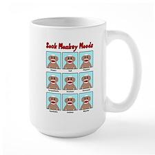 Sock Monkey Moods Mugs