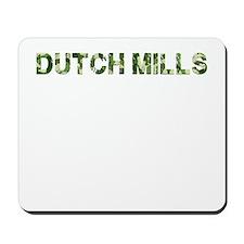 Dutch Mills, Vintage Camo, Mousepad