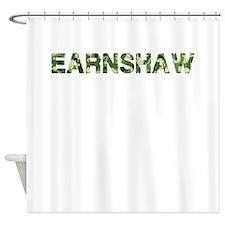 Earnshaw, Vintage Camo, Shower Curtain