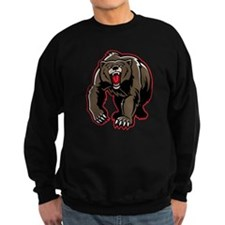 Grizzly Bear Drawing Sweatshirt