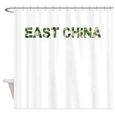 East China, Vintage Camo, Shower Curtain