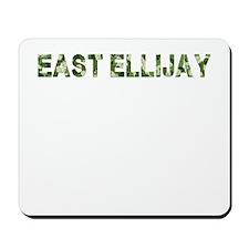 East Ellijay, Vintage Camo, Mousepad