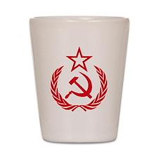 Unique Socialist Shot Glass