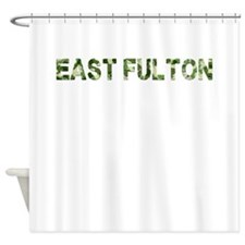 East Fulton, Vintage Camo, Shower Curtain