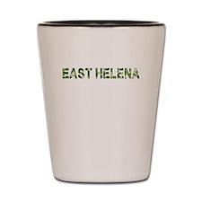 East Helena, Vintage Camo, Shot Glass