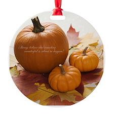 HARVEST Ornament
