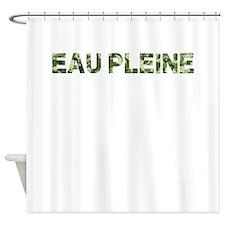 Eau Pleine, Vintage Camo, Shower Curtain