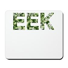 Eek, Vintage Camo, Mousepad
