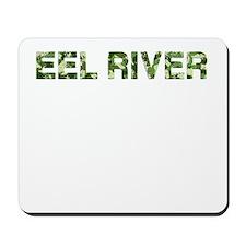 Eel River, Vintage Camo, Mousepad