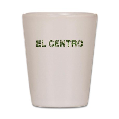 El Centro, Vintage Camo, Shot Glass