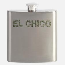El Chico, Vintage Camo, Flask