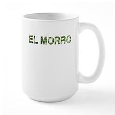 El Morro, Vintage Camo, Mug