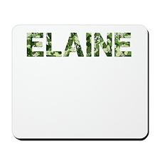 Elaine, Vintage Camo, Mousepad