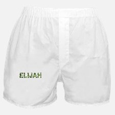 Elijah, Vintage Camo, Boxer Shorts