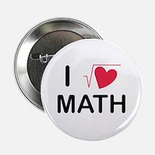 I heart math Button