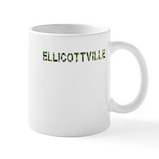 Ellicottville, Vintage Camo, Mug