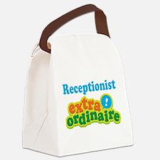 Receptionist Extraordinaire Canvas Lunch Bag