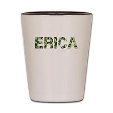 Erica, Vintage Camo, Shot Glass
