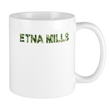 Etna Mills, Vintage Camo, Mug