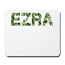 Ezra, Vintage Camo, Mousepad
