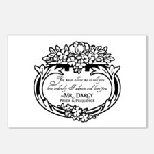 Mr Darcy Pride and Prejudice Postcards (Package of