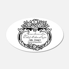 Mr Darcy Pride and Prejudice Wall Decal