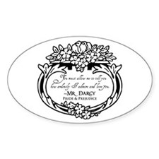 Mr Darcy Pride and Prejudice Decal