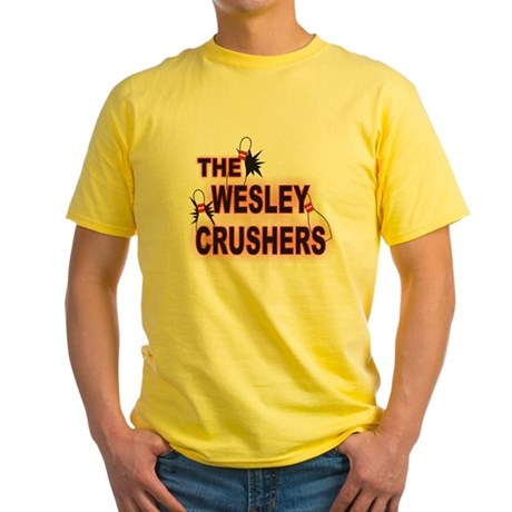 THE WESLEYCRUSHERS.png Yellow T-Shirt
