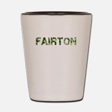 Fairton, Vintage Camo, Shot Glass