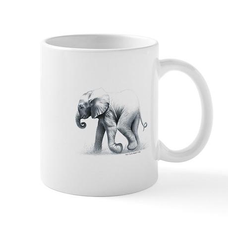 Baby Elephant Travel Mug Mugs