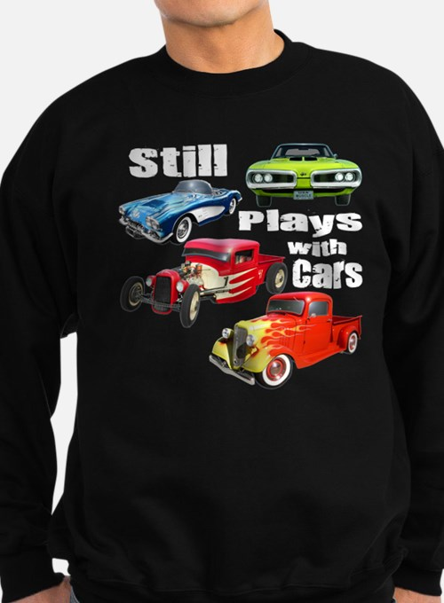 Cute Play with cars Sweatshirt