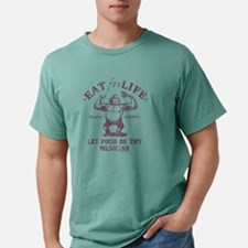 Eat for Life Let food be Mens Comfort Colors Shirt