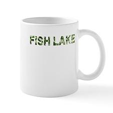 Fish Lake, Vintage Camo, Mug