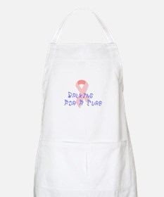 Walking for a cure BBQ Apron
