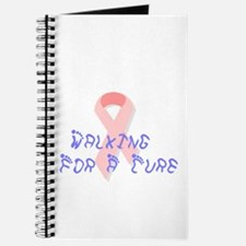 Walking for a cure Journal
