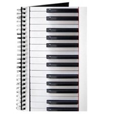 Piano Keyboard 3 Journal
