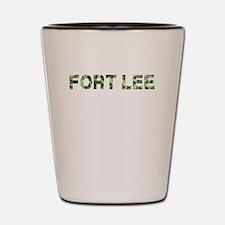 Fort Lee, Vintage Camo, Shot Glass