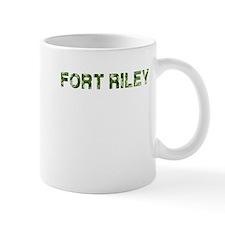 Fort Riley, Vintage Camo, Mug