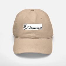 peace, luv, hummus Baseball Baseball Cap