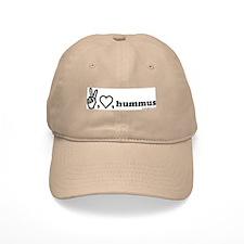 peace, luv, hummus Baseball Cap