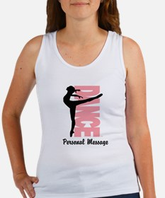 Personalized Beautiful Dancer Women's Tank Top